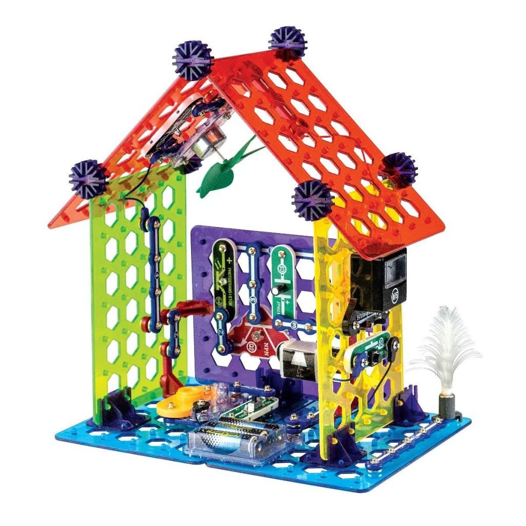אלקטרוניקה לילדים - snap circuits smart home