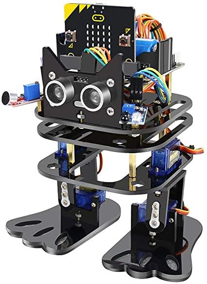 bitbagz microbit programmble robot for kids - רובוט לתכנות לילדים עם מיקרוביט