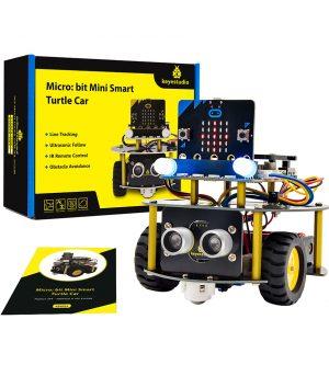 רכב-רובוטי-למיקרוביט-microbit-smart-robot-car
